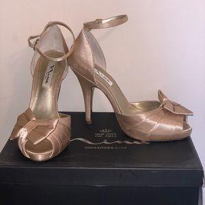 High heeled Nina shoes